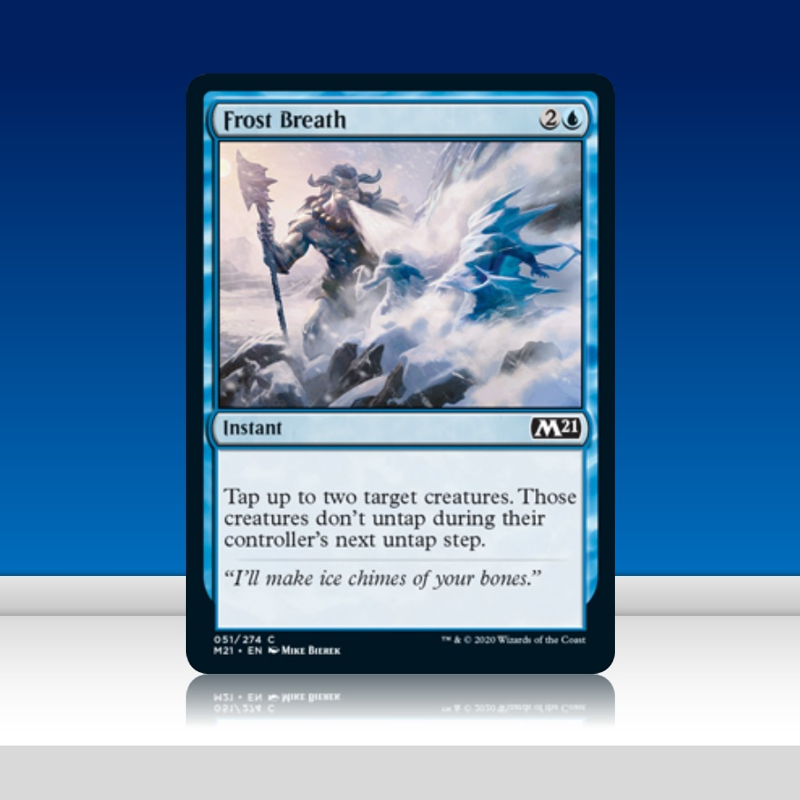 Details about  /Frost Breath 051//274 MTG Core 2021 New Instant Blue Common